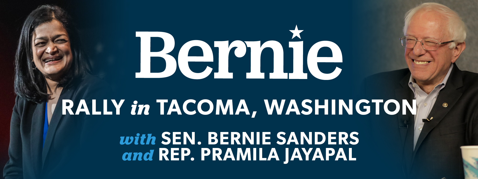 Bernie 2020 Rally in Tacoma