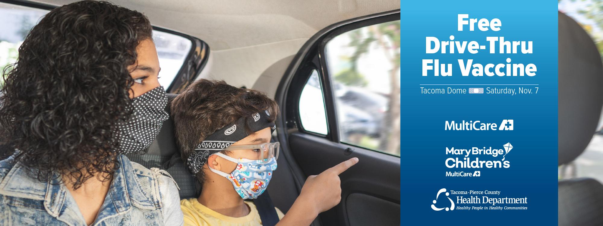 Free Drive-Thru Flu Vaccine