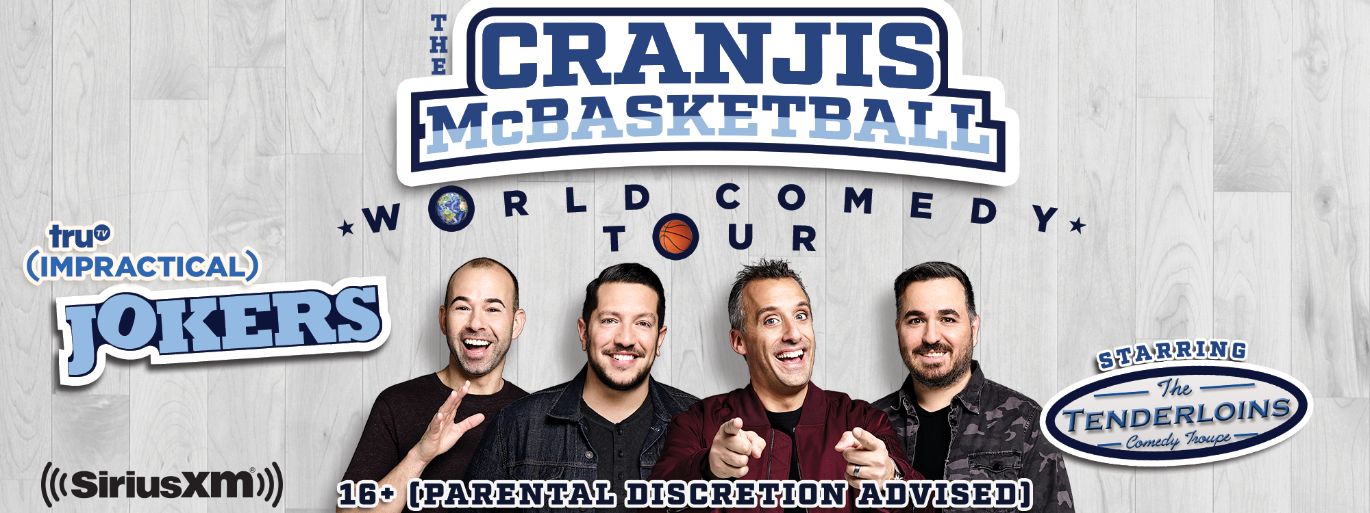 "Universal Hollywood Presents Impractical Jokers ""The Cranjis McBasketball World Comedy Tour"""