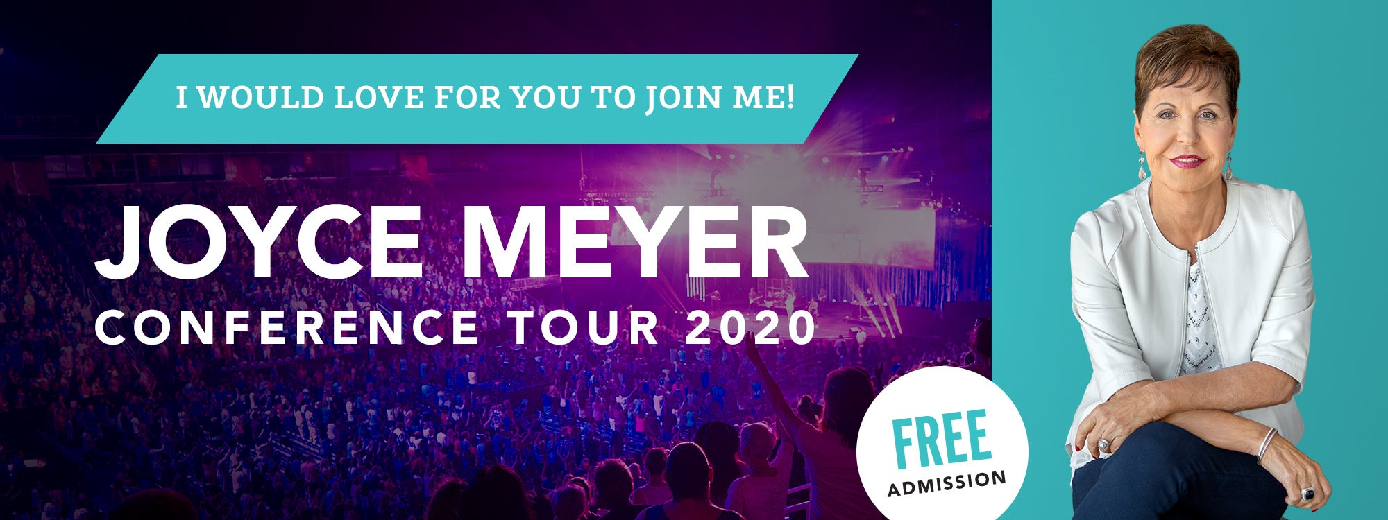 Joyce Meyer Conference Tour 2020